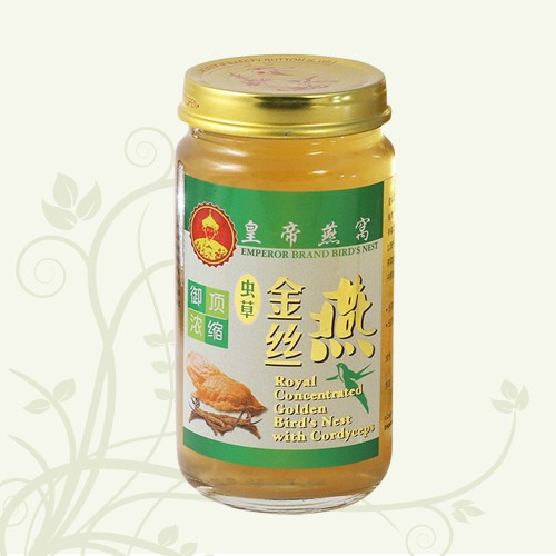 Royal Concentrated Golden Bird's Nest with Cordycep 150ml
